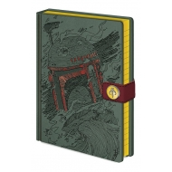 Star Wars - Carnet de notes Premium A5 Boba Fett Art
