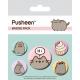 Pusheen - Pack 5 badges Says Hi