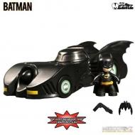 Batman - Figurine Mini Mez-Itz Batman avec sa Batmobile
