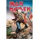 Iron Maiden - Panneau métal Trooper 20 x 30 cm