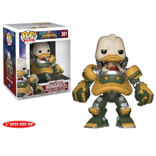 Marvel Tournoi des champions - Figurine POP! Super Sized Howard the Duck 15 cm