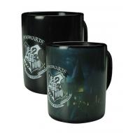 Harry Potter - Mug effet thermique Hogwarts