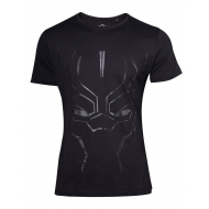 Black Panther - T-Shirt Black on Black Face