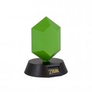The Legend of Zelda - Veilleuse 3D Green Rupee 10 cm