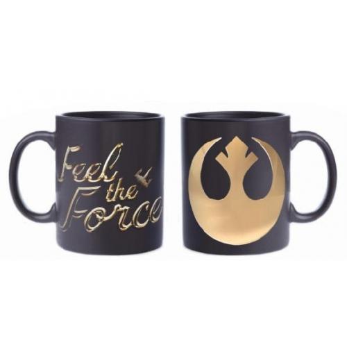 Star Wars Episode VIII - Mug Feel The Force (Rebel Logo)