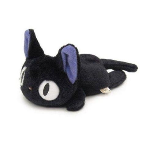 Kiki la petite sorcière - Peluche beanie Jiji Fluffy 15 cm