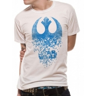 Star Wars Episode VIII - T-Shirt Jedi Badge Explosion