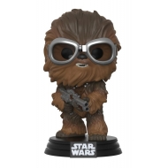 Solo : A Star Wars Story - Figurine POP! Bobble Head Chewbacca with Goggles 9 cm