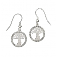 Harry Potter - Boucles d'oreilles Whomping Willow Swarovksi