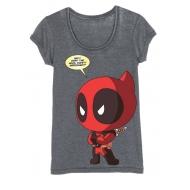 Deadpool - T-Shirt femme Chibi