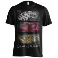 Game of thrones - T-Shirt 3 Sigils Row