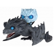Game of Thrones - Figurine POP! Night King & Viserion 15 cm