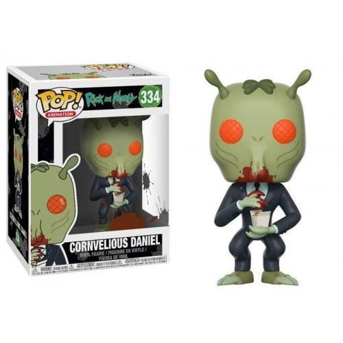 Rick et Morty - Figurine POP! Cornvelious Daniel 9 cm