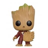 Les Gardiens de la Galaxie 2 - Figurine POP! Bobble Head Jeune Groot avec bouclier 9 cm