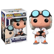 Retour vers le Futur - Figurine POP! Doc Brown 10 cm