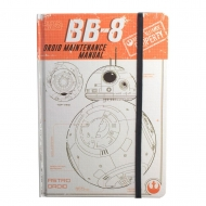 Star Wars Rogue One - Cahier A5 BB-8 Droid Maintenance Manual