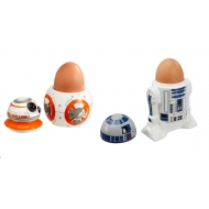 Star Wars - Pack 2 coquetiers ceramique R2-D2 & BB-8