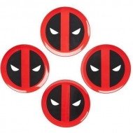 Deadpool - Marvel pack 4 Assiettes Icon Deadpool