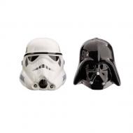 Star Wars - Salière et poivrière Darth Vader & Stormtrooper Helmet