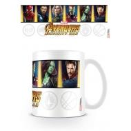Avengers Infinity War - Mug Characters & Emblems