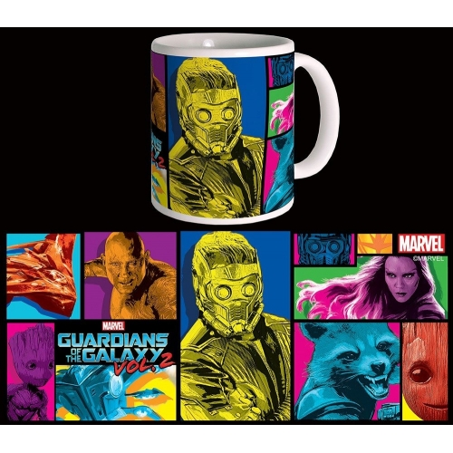 Les Gardiens de la Galaxie 2 - Mug Colors