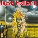 Iron Maiden - Tableau toile encadré First Album 40 x 40 cm