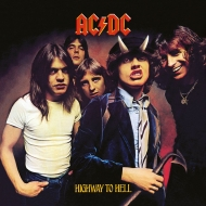 AC/DC - Tableau toile encadré Highway To Hell 40 x 40 cm