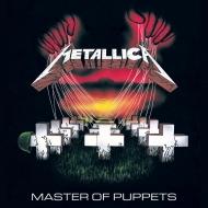 Metallica - Tableau toile encadré Master Of Puppets 40 x 40 cm