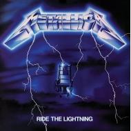 Metallica - Tableau toile encadré Ride The Lightning 40 x 40 cm