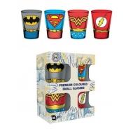 DC Comics - Set 4 verres à liqueur Premium Costumes