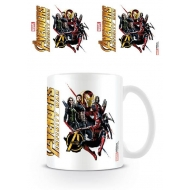 Avengers Infinity War - Mug Ready For Action