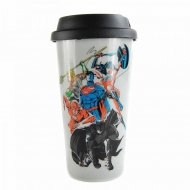 Justice League - Mug de voyage Team