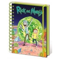 Rick et Morty - Cahier à spirale A5 Portal