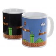 Super Mario Bros - Mug effet thermique Level