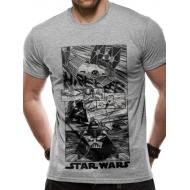 Star Wars - T-Shirt New Hope Manga