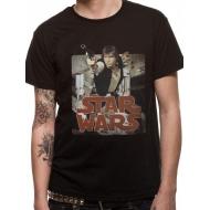Star Wars - T-Shirt Han Retro Badge