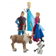 La Reine des neiges - Pack 5 figurines Bumper Pack