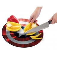 Marvel - Planche à découper Captain America's Shield (Classic)
