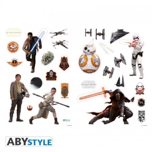 Star Wars - Stickers The Force Awakens 100x70cm
