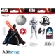 Star Wars - 2 planches Stickers Vador Trooper 16x11cm
