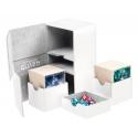 Ultimate Guard - Boîte pour cartes Twin Flip'n'Tray Deck Case 160+ taille standard XenoSkin Blanc
