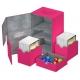 Ultimate Guard - Twin Flip'n'Tray Deck Case 160+ taille standard XenoSkin Rose