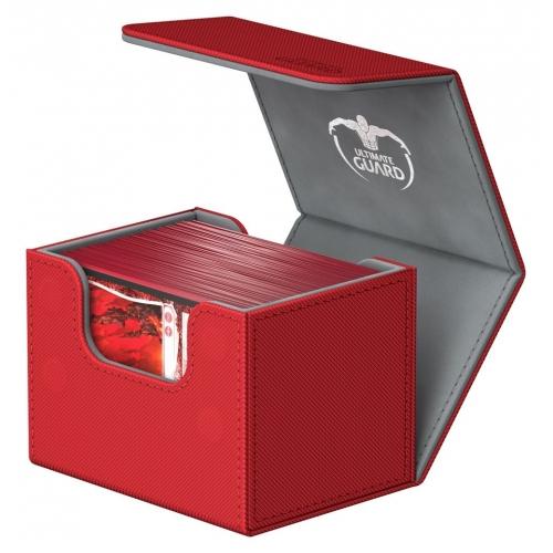 Ultimate Guard - SideWinder 100+ taille standard XenoSkin Rouge