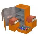 Ultimate Guard - Twin Flip'n'Tray Deck Case 160+ taille standard XenoSkin Orange