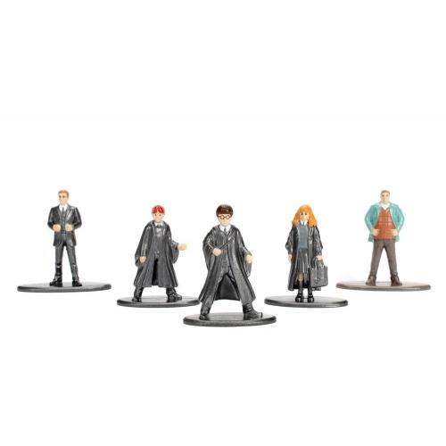 Harry Potter - Pack 5 figurines Diecast Nano Metalfigs Set A 4 cm