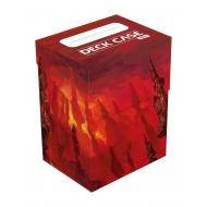 Ultimate Guard - Boîte pour cartes Basic Deck Case 80+ taille standard Lands Edition Montagne I