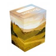 Ultimate Guard - Boîte pour cartes Basic Deck Case 80+ taille standard Lands Edition Plaine I