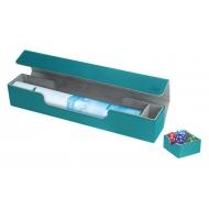 Ultimate Guard - Flip'n'Tray Mat Case XenoSkin Bleu Pétrole