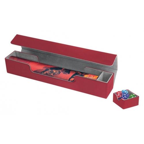 Ultimate Guard - Flip'n'Tray Mat Case XenoSkin Rouge
