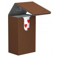 Ultimate Guard - French Tarot Flip Deck Case 80+ XenoSkin Brun